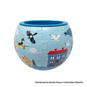 "Kiki Town of Koriko Puzzle Bowl ""Kiki's Delivery Service"", Ensky Art Bowl Jigsaw"
