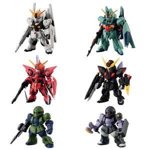 """FW Gundam Converge #21 SET """"Mobile Suit Gundam"""", Bandai Converge"""