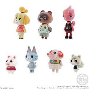 "Animal Crossing: New Horizons Villager Collection SET ""Animal Crossing"", Bandai Shokugan"