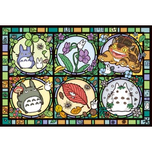 "1000-AC012 Totoro Season's Tidings (Large) Artcrystal Puzzle ""My Neighbor Totoro"", Ensky Artcrystal Puzzle"