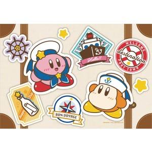 "Kirby Bon Voyage Jigsaw Puzzle (108-L754 ) ""Kirby"", Ensky Puzzle"