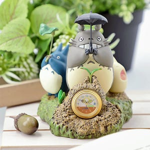 "Totoro Dondoko Dance Statue Desk Clock ""My Neighbor Totoro"", Benelic"