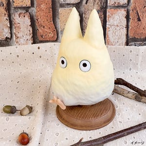 "Found You! Small White Totoro Statue ""My Neighbor Totoro"", Benelic"