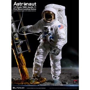 "Astronaut (Apollo 11 :LM-5 A7L ver.) ""The Real"", Blitzway 1/4 Scale Statue"