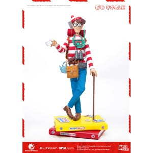 "Waldo 1/6th Scale Action Figure ""Where's Waldo?"", 5Pro Studio MEGAHERO Series"