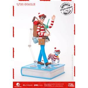 "Waldo 1/12th Scale Action Figure (DX ver.) ""Where's Waldo?"", 5Pro Studio MEGAHERO Series"
