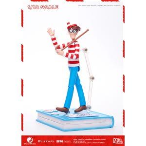 "Waldo 1/12th Scale Action Figure (Normal ver.) ""Where's Waldo?"", 5Pro Studio MEGAHERO Series"