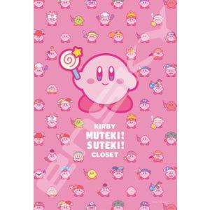"Kirby Muteki! Suteki! Closet Jigsaw Puzzle (300-1722) ""Kirby"", Ensky Puzzle"