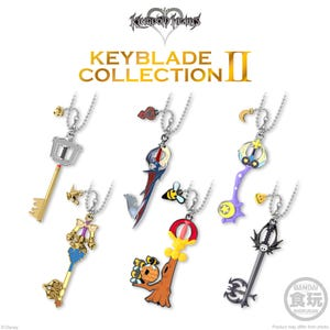 "Keyblade Collection 2 ""Kingdom Hearts"", Bandai Keyblade Collection"