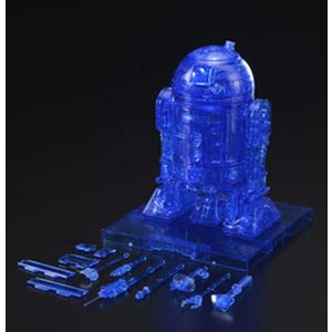 "R2-D2 (Hologram Ver.) ""Star Wars"", Bandai Star Wars 1/12 Plastic Model"