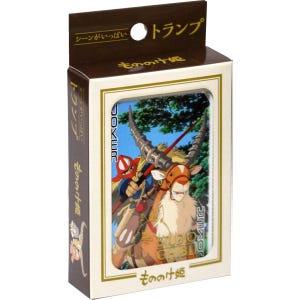 "Princess Mononoke Scenes Playing Cards ""Princess Mononoke"", Ensky Playing Cards"