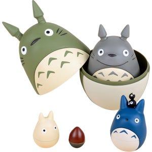"Totoro Nesting Dolls (6 piece) ""My Neighbor Totoro"", Ensky"