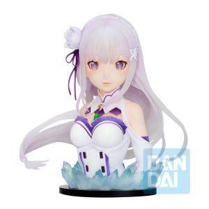 "Emilia(May The Spirit Bless You) ""Re:Zero -Starting Life in Another World-"", Bandai Spirits Ichibansho Figure"