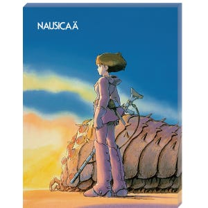 "ATB-15 Ohmu and Nausicaa ""Nausicaa of the Valley of the Wind"", Ensky Artboard Jigsaw (Canvas Style)"