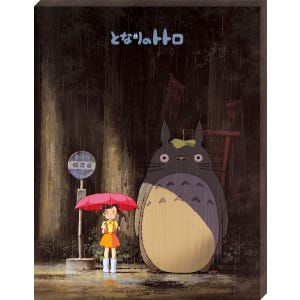 "ATB-18 Meeting Totoro ""My Neighbor Totoro"", Ensky Artboard Jigsaw (Canvas Style)"