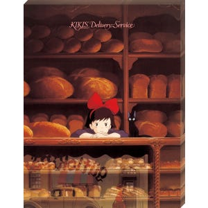 "ATB-19 Tending the Store ""Kiki's Delivery Service"", Ensky Artboard Jigsaw (Canvas Style)"