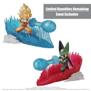 Super Saiyan Goku & Cell Final Form , Bandai Final Blast