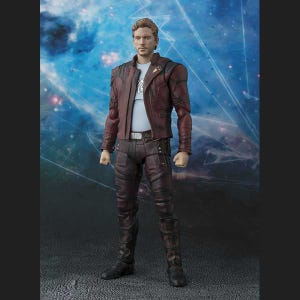 """Star-Lord (Guardians of the Galaxy Vol. 2) & Explosion """"Guardians of the Galaxy Vol. 2"""", Bandai S.H.Figuarts"""