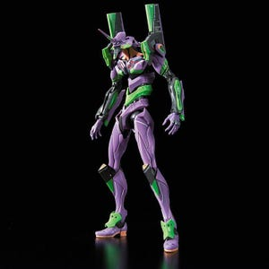 "#04 EVA-01 Test Type (2nd Movie Ver) ""Rebuild of Evangelion"", Bandai HG Evangelion"