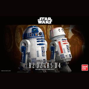 "R2-D2 & R5-D4 ""Star Wars"", Bandai Star Wars Character Line 1/12"
