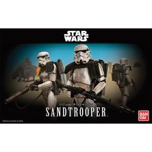"Sandtrooper ""Star Wars"", Bandai Star Wars Character Line 1/12"