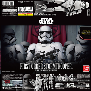"First Order Stormtrooper ""Star Wars"", Bandai Star Wars Character Line 1/12"