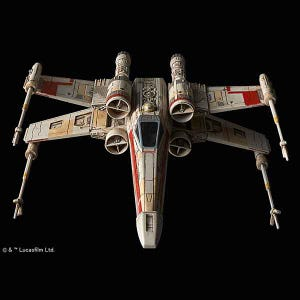 "X-Wing StarFighter ""Star Wars"", Bandai Star Wars 1/144 Plastic Model Kit"
