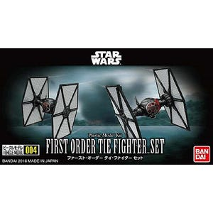 "004 First Order TIE Fighter Set  ""Star Wars"", Bandai VM"