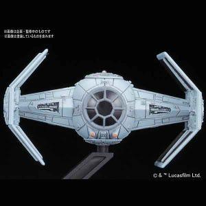 "Tie Advanced x1 and Tie Fighter set ""Star Wars"", Bandai Star Wars VM"
