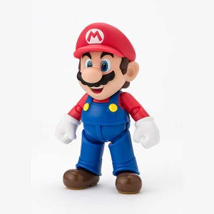 "Mario (New Package Ver.) ""Super Mario Brothers"", Bandai S.H.Figuarts"