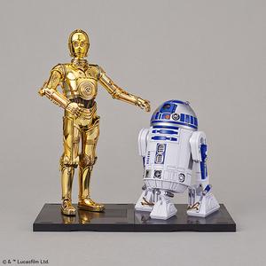 "C-3PO & R2-D2 ""Star Wars"", Bandai Star Wars Character Line 1/12"