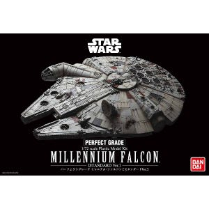 "Millennium Falcon (Standard Edition) ""Star Wars: A New Hope"", Bandai 1/72 Perfect Grade (PG)"