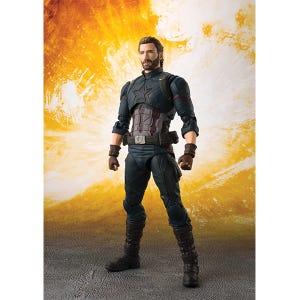 "Captain America & Tamashii Effect Explosion ""Avengers: Infinity War"", Bandai S.H.Figuarts"