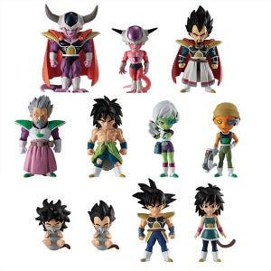 "Dragon Ball Adverge Broly Premium Set (Set/11) ""Dragon Ball Super: Broly Movie"", Bandai Adverge"