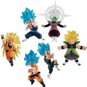 "Dragon Ball Adverge Motion 4 (Set) ""Dragon Ball Super"", Bandai Adverge"