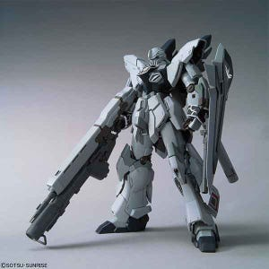 "Sinanju Stein (Narrative Ver.) ""Gundam NT"", Bandai MG 1/100"