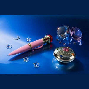 "Transformation Brooch & Disguise Pen Set ""Sailor Moon"", Bandai Proplica"