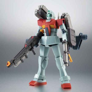 """The Earth Federation Force Weapons Set ver. A.N.I.M.E. """"Mobile Suit Gundam"""", Bandai Robot Spirits"""