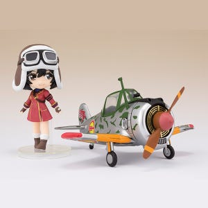 "Kylie & Hayabusa (Kylie ver.) ""The Kotobuki Squadron in the Wilderness"", Bandai Figuarts Mini"