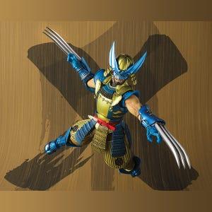 """Muhomono Wolverine """"Marvel"""", Bandai Meisho Manga Realization"""