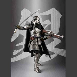 "Ashigaru Taisho Captain Phasma ""Star Wars"", Bandai Meisho Movie Realization"