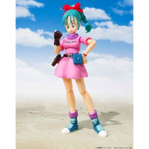 "Bulma -Adventure Begins- ""Dragon Ball"", Bandai S.H.Figuarts"