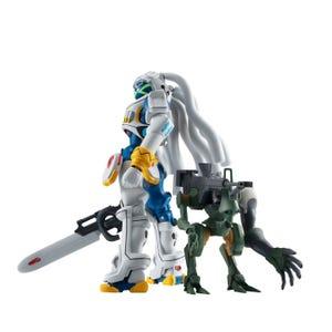 """King Gainer & Gachico """"Overman King Gainer"""", Bandai Robot Spirits"""