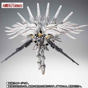 "Wing Gundam Snow White Prelude ""Mobile Suit Gundam W Frozen Teardrop"", Bandai Gundam Fix Figuration Metal Composite"