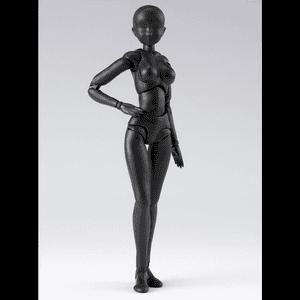 "BODY-CHAN DX SET 2 (Solid Black Color Ver.) ""Figure"", Bandai Tamashii Nations S.H. Figuarts"