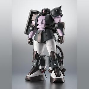 "MS-06R-1A ZAKU High Mobility Type -Black Tri Stars- ver. A.N.I.M.E. ""Mobile Suit Gundam"", Bandai Robot Spirits"