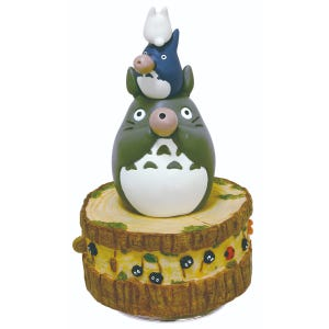 "Totoro's Band Music Box ""My Neighbor Totoro"", Benelic"