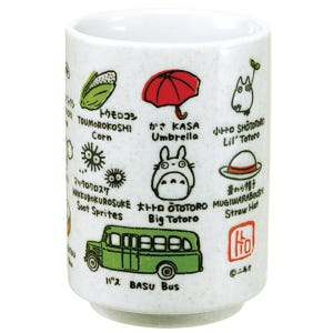 "Totoro and Friends Japanese Teacup ""My Neighbor Totoro"", Benelic"