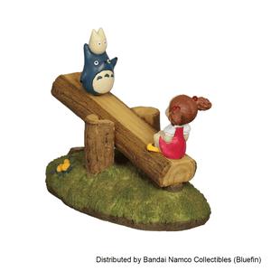 "Totoro and Mei On See Saw Figure ""My Neighbor Totoro"", Benelic"