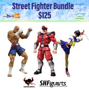 Spring Savings 2021 Street Fighter Bundle